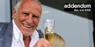 Hat gut lachen: Zwei Wochen vor der öpsterreichischen Nationalratswahl ging das neue Webportal von Red Bull-Chef Dietrich Mateschitz online.
