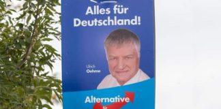 Wer wie Sachsens AfD-Kandidat Ulrich Oehme alles für Deutschland geben will, macht sich strafbar!