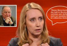 Schlägt in ihrem Artikel unverblümt vor, die AfD von TV-Talkshows auszuschließen - Spiegel-Autorin Melanie Amann.