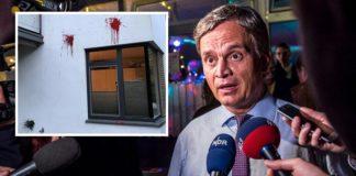 Auf das Haus des Hamburger Bundestagsabgeordnete Bernd Baumann wurde ein Anschlag verübt.