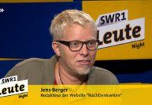 """Verantwortlich für die Zensur des Artikels über den Bestseller """"Kontrollverlust"""": Jens Berger."""