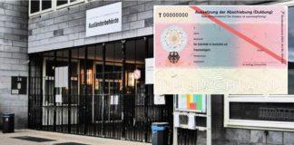 Ausländerbehörde in Berlin.