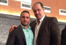 """Bester Onkel der Welt"" - NRW-Polizist Mohamed Hassan posiert stolz mit dem berüchtigten Berliner Clanchef Mahmoud Al-Zein."