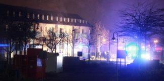 In der Aufnahmeeinrichtung Oberfranken in Bamberg ging in der Nacht zu Mittwoch eine Wohnung in Flammen auf.