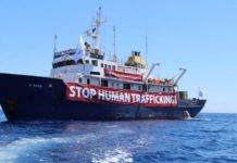 Die C-Star, das Schiff der Identitären Bewegung.