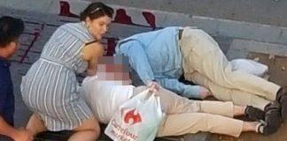 Nicht Politiker zählen zu den Opfern des islamischen Terrors, sondern normale Bürger - wie dieses ältere Ehepaar am Straßenrand von Barcelona.
