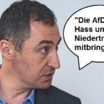 """Cem Özdemir am 18.9. im neuen BILD-Talk """"Lilly Live""""."""