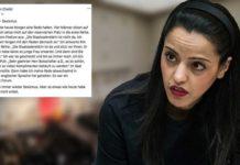 Steht immer noch unter Schock, weil ein früherer Botschafter sie auf einer Podiumsdiskussion für ihr Aussehen lobte - Berlins palästinensisch-stämmige Staatssekretärin Sawsan Chebli.