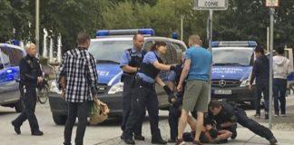 Polizeieinsatz in Chemnitz (Symbolbild).