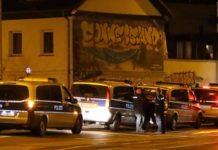 """Hier vor dem linksextremistischen Szene-Treff """"Conne Island"""" kam es am Wochenende zu einem Großeinsatz der Polizei."""