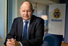 """Präsentierte am Mittwoch seinen Bericht über """"gefährdete Gebiete"""" in Schweden - Reichspolizeichef Dan Eliasson.."""