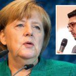 Diego Faßnacht aus Bergisch Gladbach forderte beim JU-Deutschlandtag in Dresden den Rücktritt von Angela Merkel.
