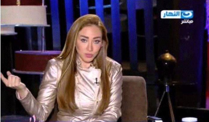 TV-Moderatorin Doaa Salah in ihrer Sendung auf Al-Nahar.