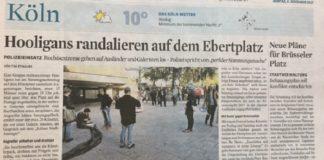 Irreführender Artikel im Kölner Stadt-Anzeiger vom 6. November 2017.