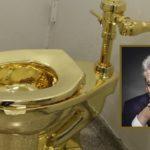 So ein Gold-Klo wie hier bei Guggenheim in NY hat Gauck natürlich nicht, die Kosten für seinen Lokus im Reichstag sind aber ähnlich goldig...