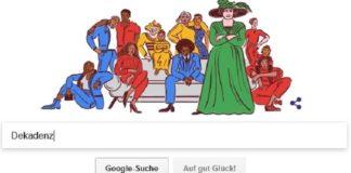 Google-Aufmacher am 13.11.2017.