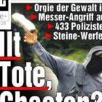 Gleiche Chaoten, ähnliche Schlagzeilen, keine Konsequenzen - Linksterror beim G8-Gipfel in Heiligendamm 2007.