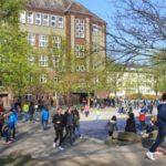 Das Herder-Gymnasium in Berlin.