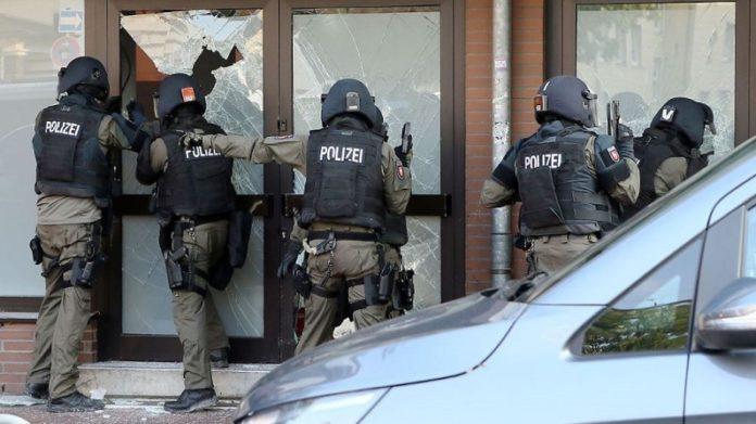 Anti-Terroreinsatz in Hildesheim.
