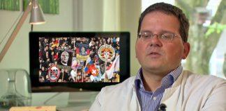 Will deutsche Patrioten und Gegner der muslimischen Invasion mittels Drogen gefügig machen - der Bonner Professor René Hurlemann.