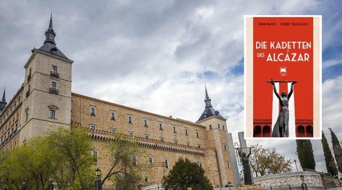 Die auf Felsen errichtete Festung Alcázar in der spanischen Oberstadt Toledos.