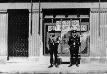 Judenboykott im Dritten Reich.