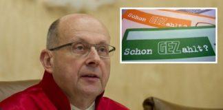 """Rollt mit seinem Fragenkatalog das Thema """"Rundfunkbeitrag"""" komplett auf - Ferdinand Kirchhof, Vorsitzender Verfassungsrichter des ersten Senats."""
