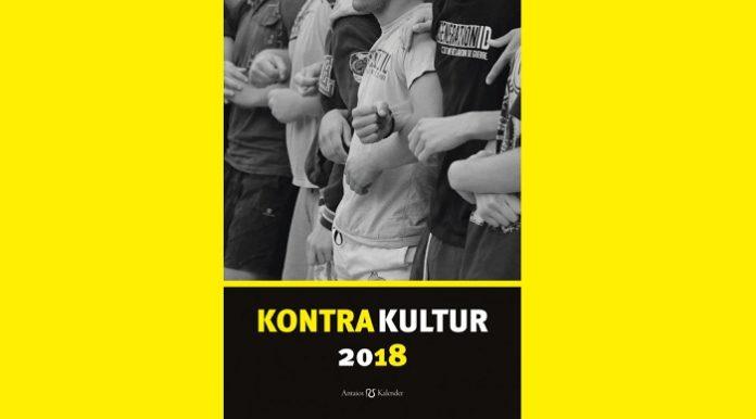 Wandkalender 2018 Kontrakultur.