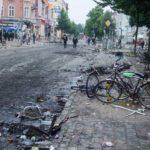 Bilder wie nach dem Krieg: Hamburg erlebte die zweite linksradikale Krawallnacht hintereinander.