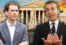 Hat nach dem Ösi-Gate nur noch schlechte Chancen bei der Nation alratswahl am 15. Oktober: Die SPÖ von Noch-Kanzler Christian Kern (SPÖ, r.) initiierte eine Schmutzkampagne gegen ÖVP-Chef Sebastian Kurz bei Facebook.