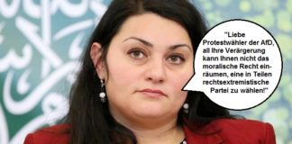 Lamya Kaddor hetzt in einem Offenen Brief über die AfD.
