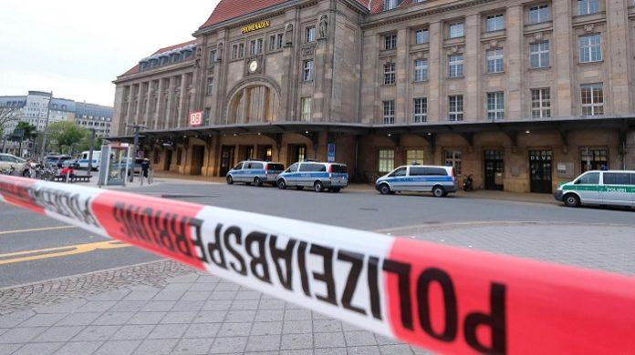 In der Nähe des Leipziger Hauptbahnhofes geschah am Dienstagabend die Messerattacke.