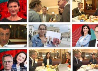 """Viele Spitzenpolitiker verschiedenster Parteien durften sich beim BILD-Format """"Lilly Live"""" präsentieren - die AfD nicht."""