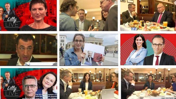 Viele Spitzenpolitiker verschiedenster Parteien durften sich beim BILD-Format