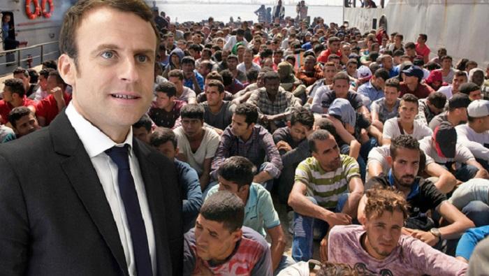Noodsituatie Franse steden door asielzoekers