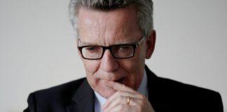 Bundesinnenminister Thomas de Maiziere.