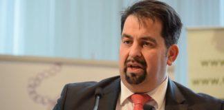"""Aiman Mazyek (Vorsitzender vom """"Zentralrat der Muslime in Deutschland"""")."""