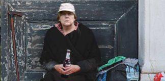Minijobs im Kanzleramt - besser als Flaschensammeln … (Fotomontage von Jouwatch)