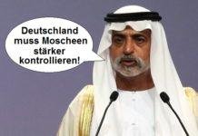 """Der """"Toleranzminister"""" der Vereinigten Arabischen Emirate, Scheich Nahjan Ibn Mubarak Al Nahjan."""
