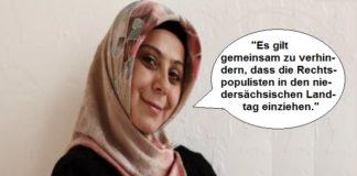 Will den Einzug der AfD in den Landtag verhindern - die stellvertretende Landesvorsitzende der Türkischen Gemeinde in Niedersachsen (TGN), Nejla Co?kun.