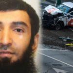 """Der islamische Mörder Sayfullo Saipov, re: die """"Tatwaffe"""" der geliehene Pickup-Truck."""