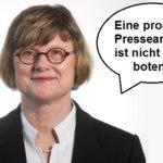 """Wollte die Vergewaltigung zweier syrischer """"Flüchtlinge"""" an einer Deutschen vertuschen - die niedersächsische Justizminsterin Antje Niewisch-Lennartz (Grünen)."""