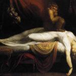 """""""Der Nachtmahr"""" von Johann Heinrich Füssli."""