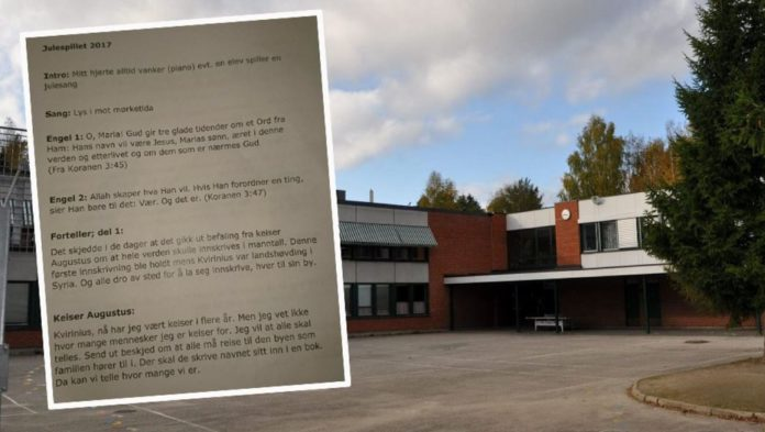 Stigeråsen Schule in Skien (Norwegen).