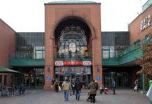 Der Tatort - das Perlacher Einkaufszentrum in München.