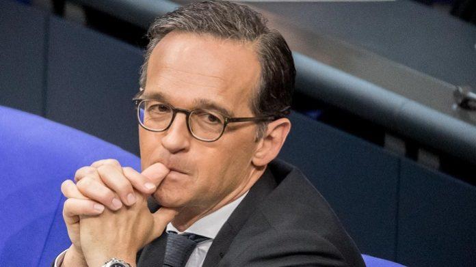 Klein-Heiko am Freitag im Bundestag. Das grundgesetzwidrige