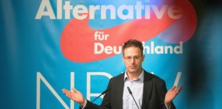 Zieht er vor dem AfD-Landesparteitag in Wiehl noch hinter den Kulissen die personellen Strippen? Ex-AfD-NRW-Chef Marcus Pretzell.