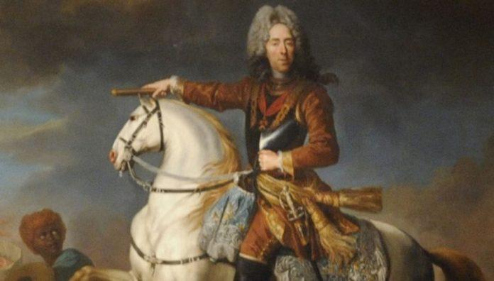 Bildnis von Prinzen Eugen.