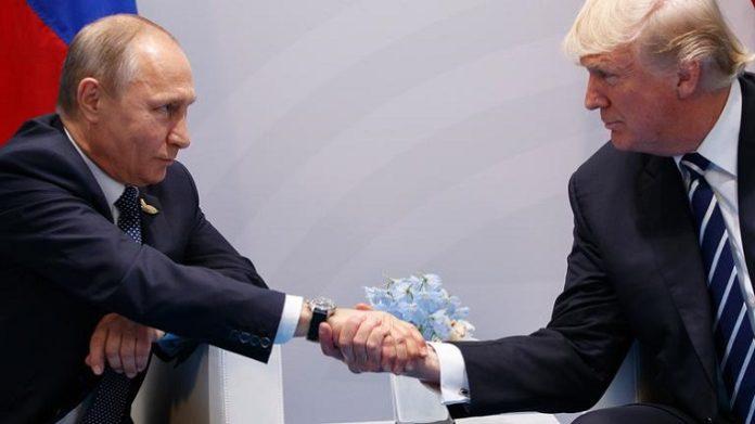 Zwei Gewinner des Gipfels: Putin und Trump.