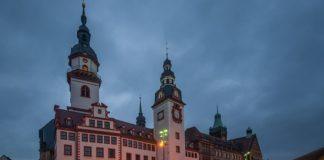 Rathaus in Chemnitz.